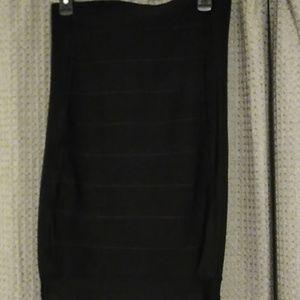 INC black bodycon skirt
